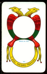 L asso di denari for Due di bastoni carte napoletane