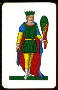 Il re di bastoni for Due di bastoni carte napoletane