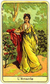 l'amante nelle carte della Sibilla della Zingara